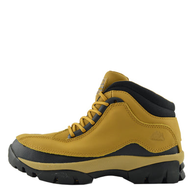 Womens New Comfort Work Safety Boots - Honey