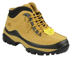Womens Safety Steel Toe Boots - Honey