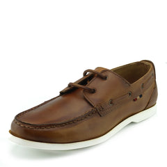mens genuine leather brown shoes