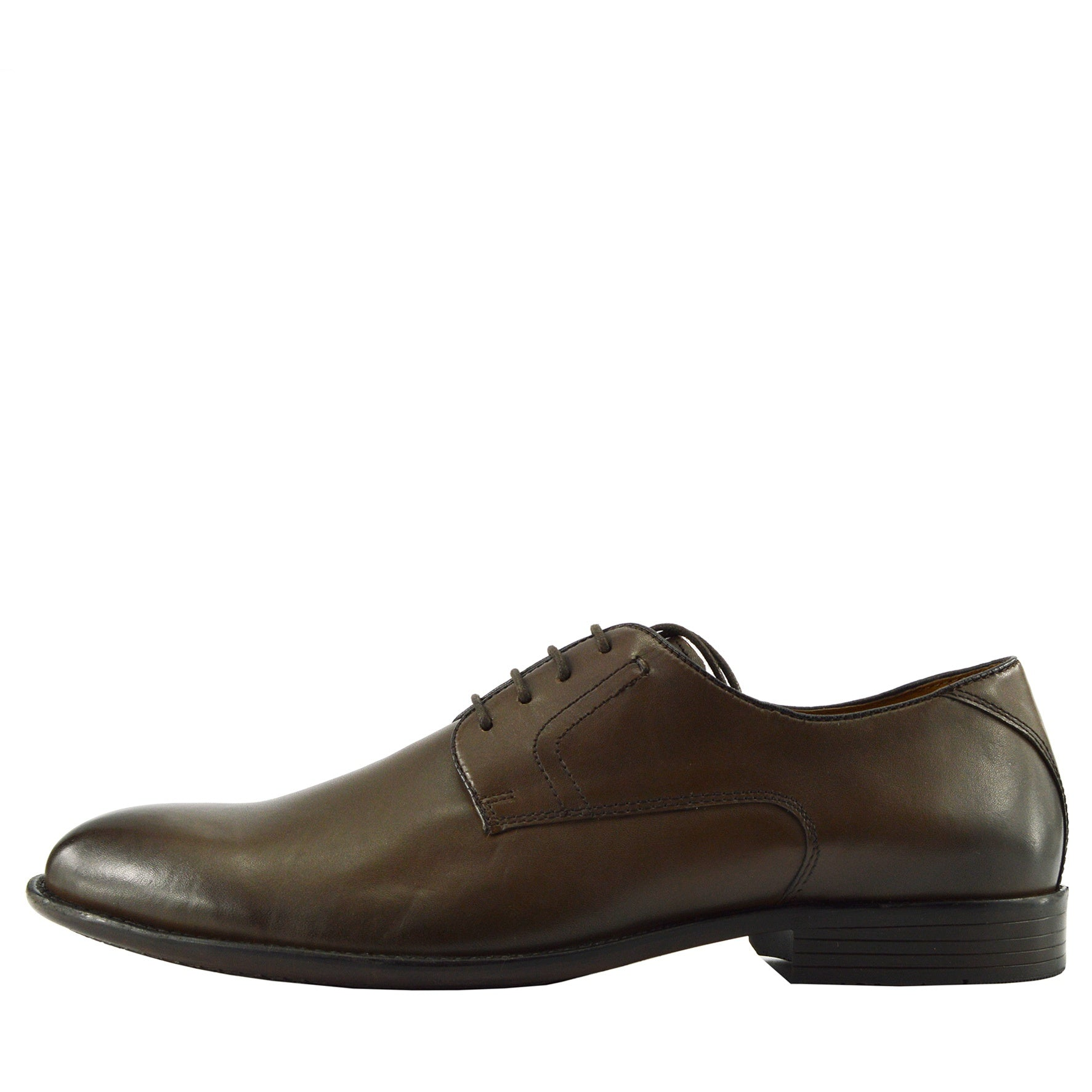 Men S Classic Oxford Real Leather Shoes Brogues Casual Lace Up Formal Shoes Brown Classic