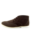 Hatton Suede Desert Lace up Ankle Boots - Brown
