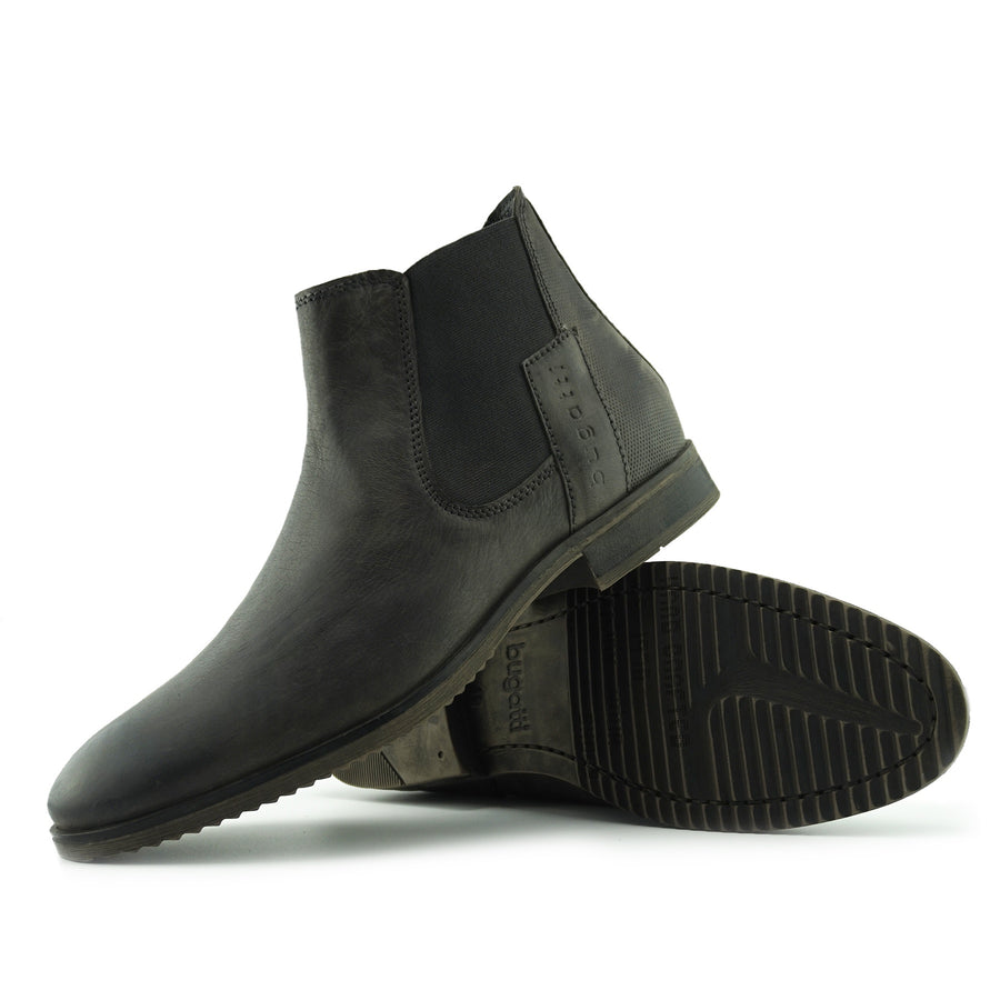 leather ankle shoes for mens
