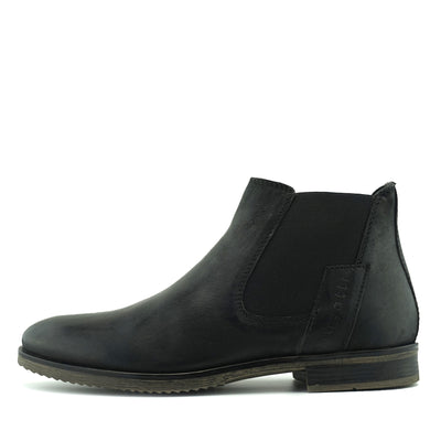 Walker Classic Leather Chelsea Boots - Black