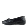 Apsley Flat Casual Comfortable Ballerina Shoes - Black - 1