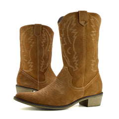 womens tan boots knee high