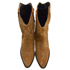 ladies brown boots wide fit