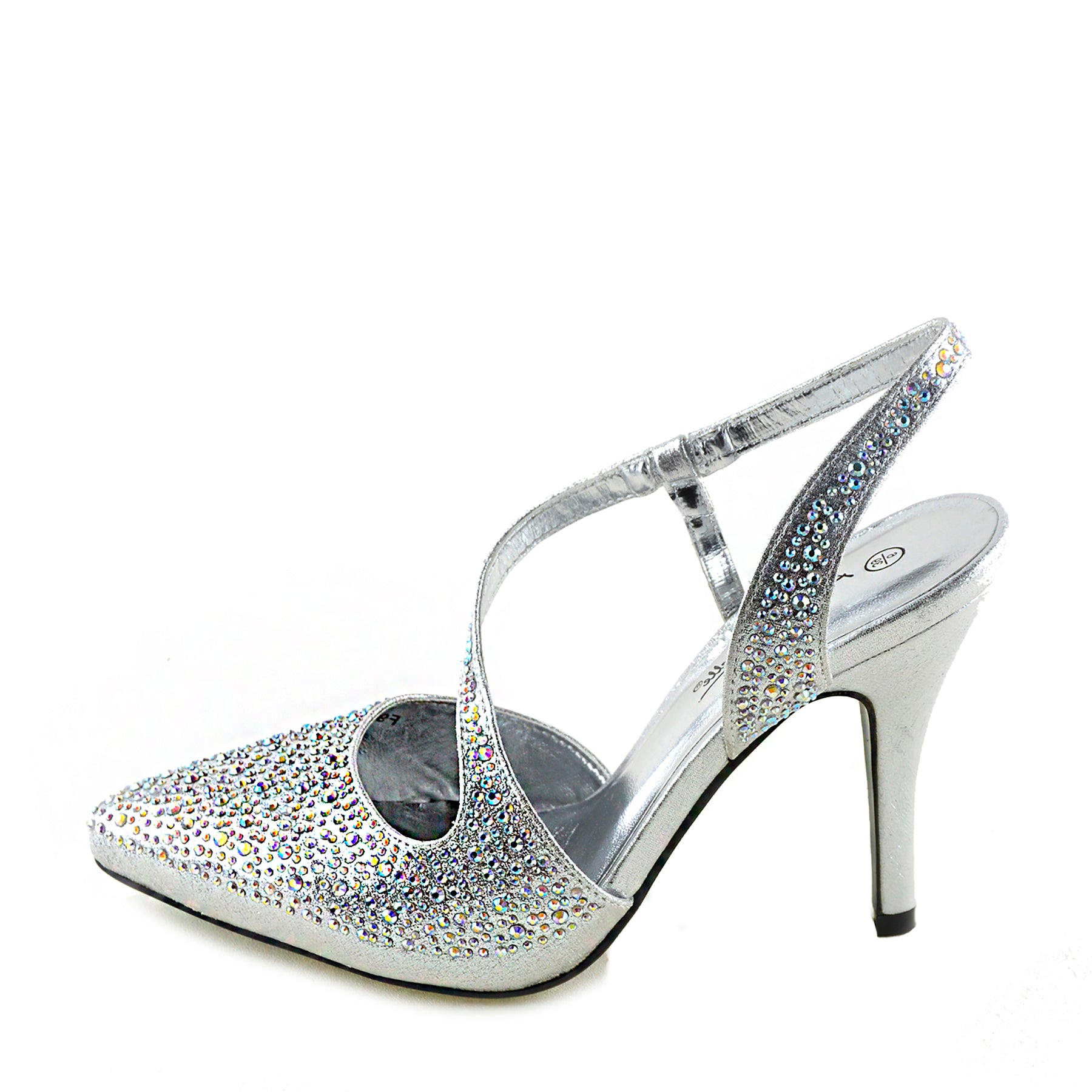 Silver Wedding Shoes.Ladies Gold Silver Wedding Sandals Slingback Shoes Silver