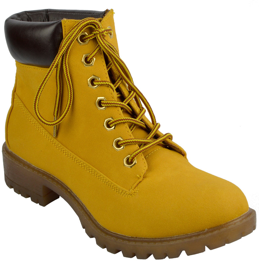 Brecon Combat Boots - Honey