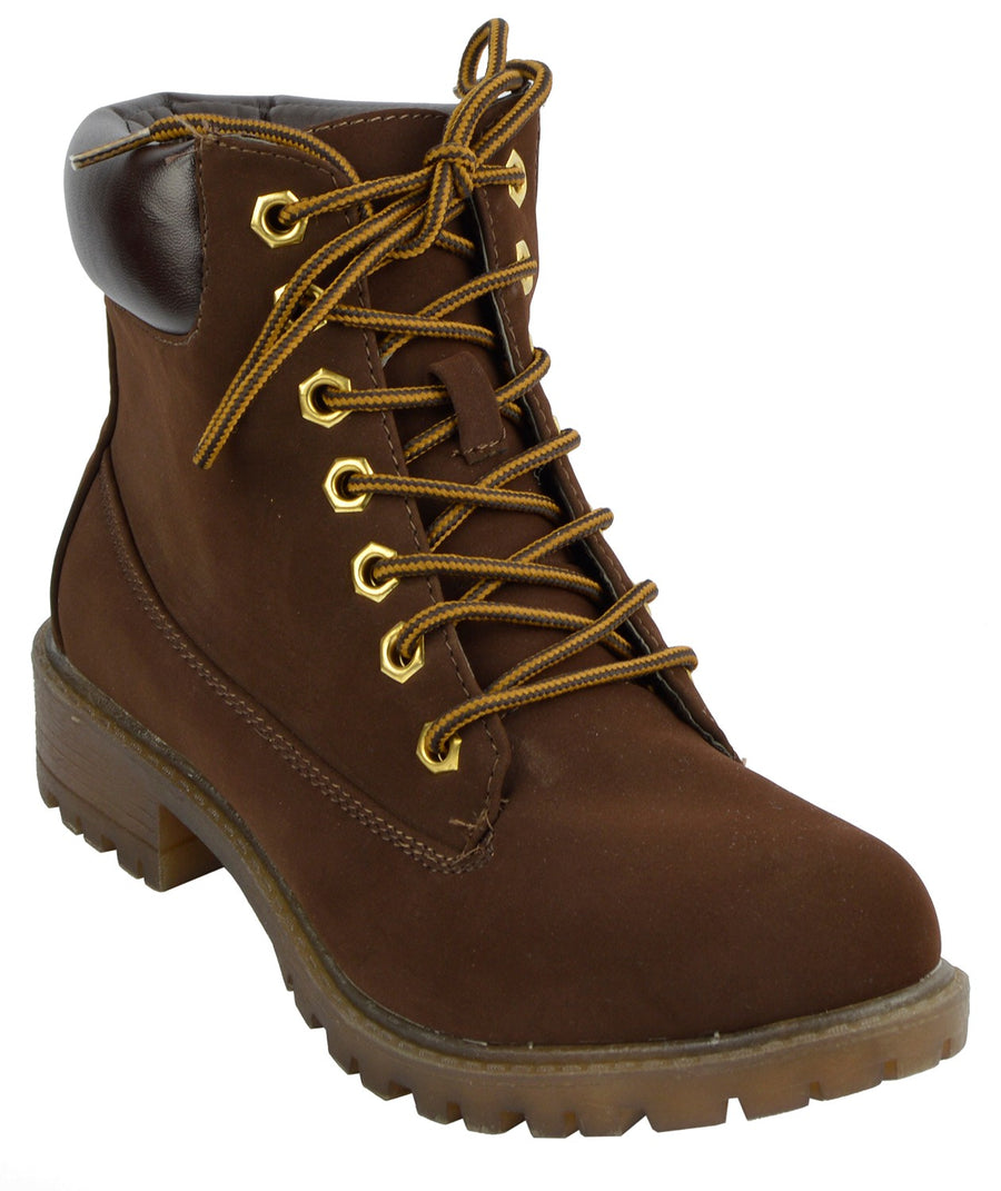 Brecon Combat Boots - Brown