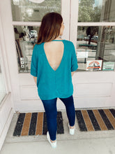 Load image into Gallery viewer, Baby Got Backless Tee - Jade