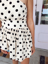 Load image into Gallery viewer, Asymmetrical Polka Dot Top
