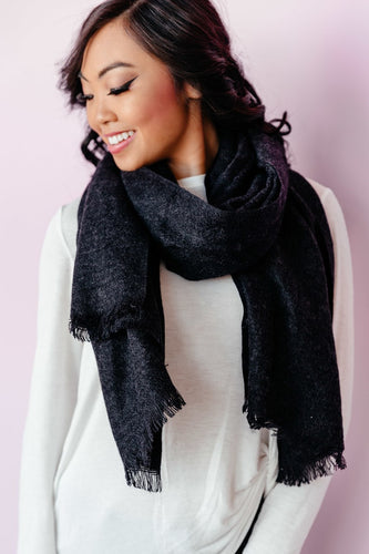 Go To Scarf - Black