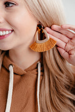Load image into Gallery viewer, Fanned Tassel Earrings