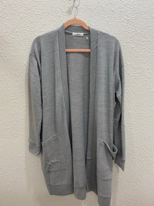 The Perfect Cardi - Light Grey