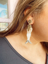 "Load image into Gallery viewer, ""Aquamarine"" Earring"