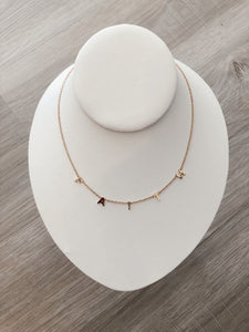 The Dainty Faith Necklace - Gold