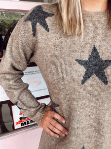Star Sweater Dress