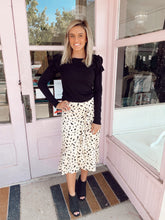 Load image into Gallery viewer, Silk Dalmatian Skirt