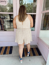 Load image into Gallery viewer, Fall Pleated Romper
