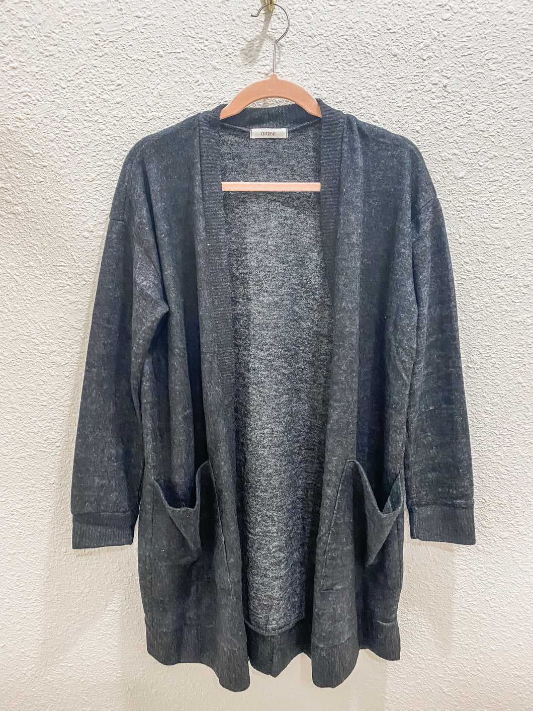 The Perfect Cardi - Charcoal