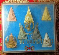 Collection of 7 Phra Nang Phaya Amulets