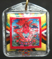 Red Garuda Bönpo Amulet - Protection Against Black Magic