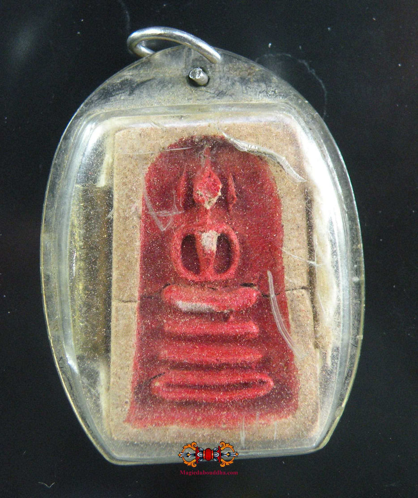 Amulette Phra Somdej rouge ancienne