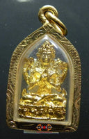 Golden Avalokiteshvara pendant - Venerable Lama Tempa