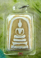 Old Phra Somdej Amulet - Very Venerable Ajarn Sané