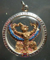 Amulette Thai ancienne Garuda Paya Kruth