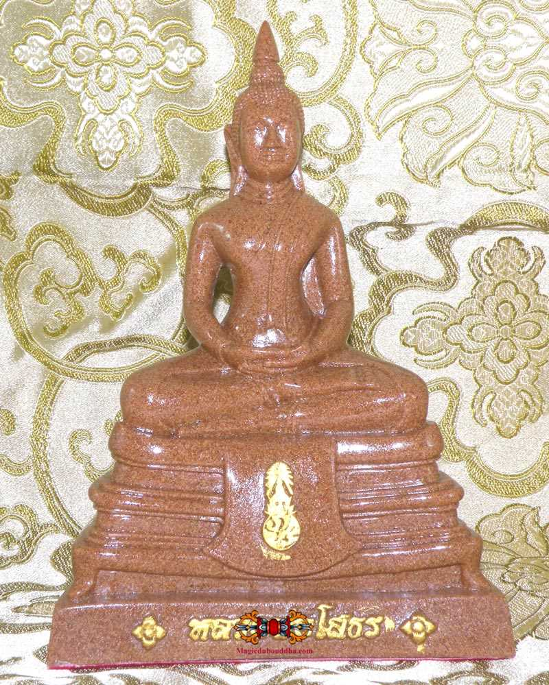 LP Sothorn Statues in Tile Relics -Phra Pathom Cheddi