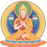 Tsongkhapa Mantra Amulet - Encourages Virtue and Studies
