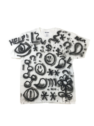 Air Brush Splatter T-Shirt