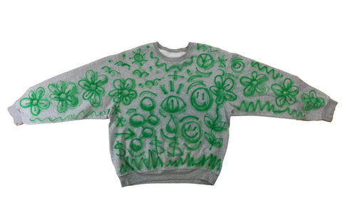 Air Brush Crewneck