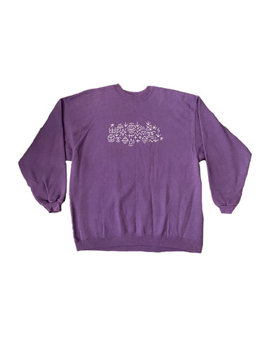 Puff Paint Crewneck