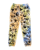 Tie Dye Airbrush Sweatpants (Medium)