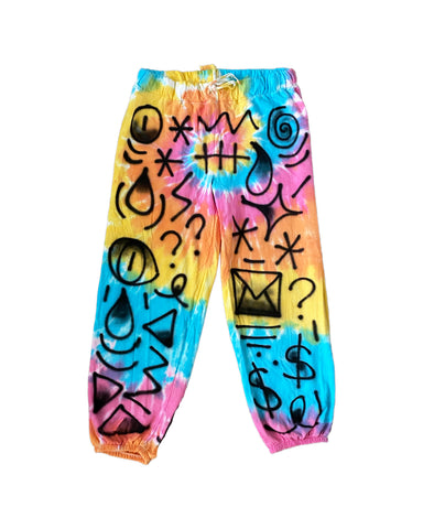 Tie Dye Airbrush Lounge Pants