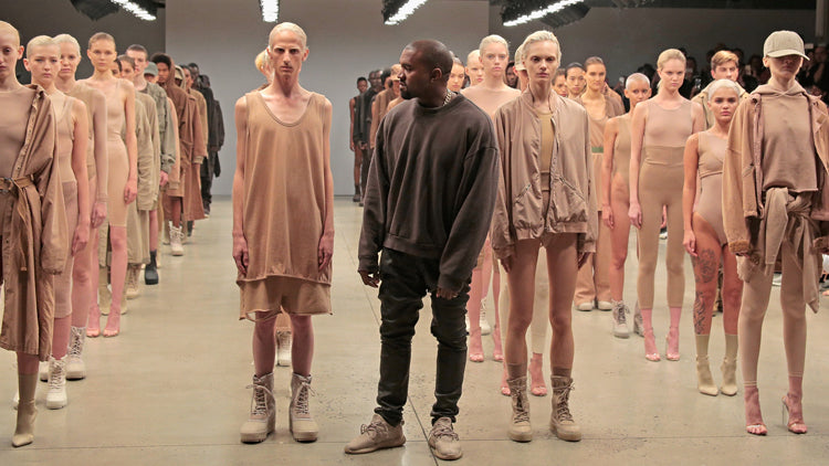 Yeezy Season 2, the Kanye West X Adidas Originals Collection, September 2015