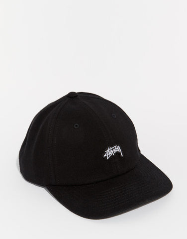 Cropped Stock Strapback Cap