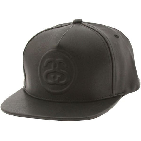Embossed SS Cap (Black)