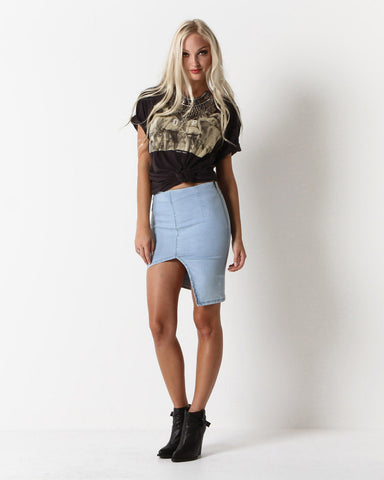 Women's Coated Terry Shorts (Black)