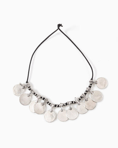 Vanessa Mooney - La Vida Boheme Statement Necklace (Silver)