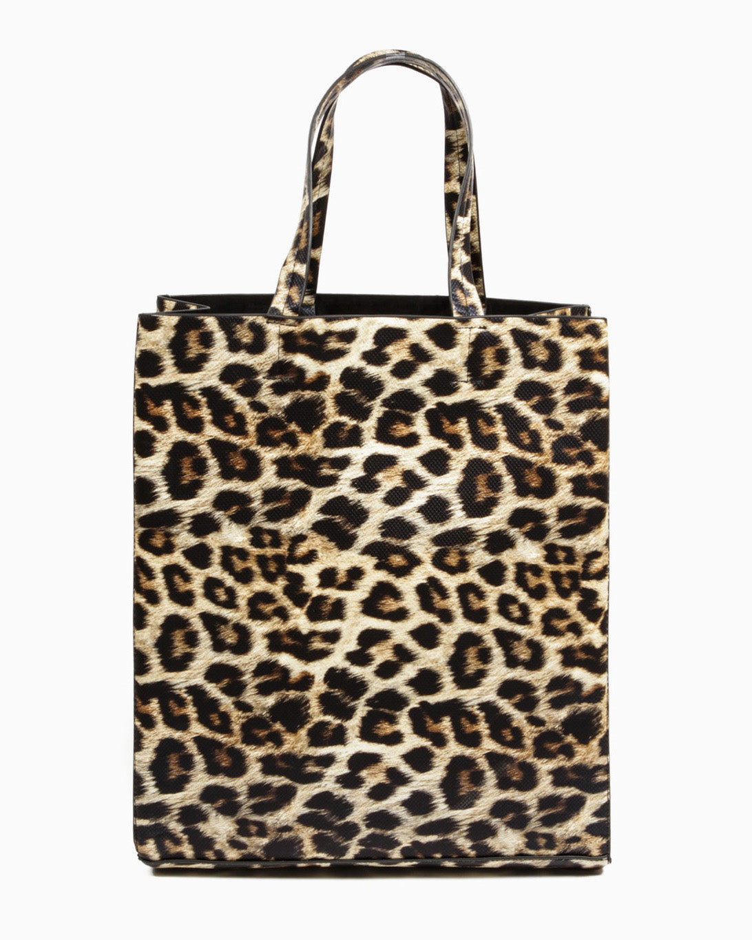 Beatrice Shopper Tote Bag (Leopard)
