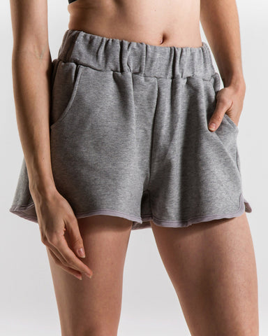 Adeline Sweatshorts (Grey)