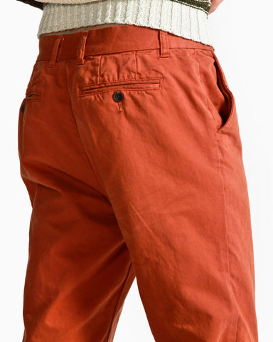 Men's Bistre Classic Chino Pant (Red)