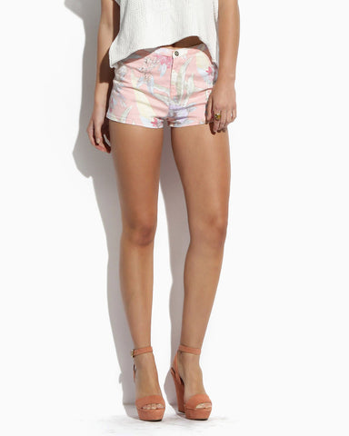 Women's Del May Shorts (Palme Peach)