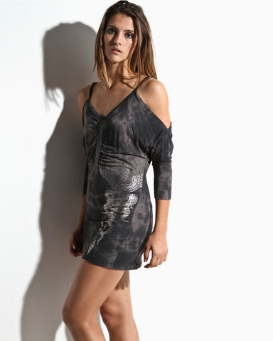 Women's Dagger Dress (Gunmetal)