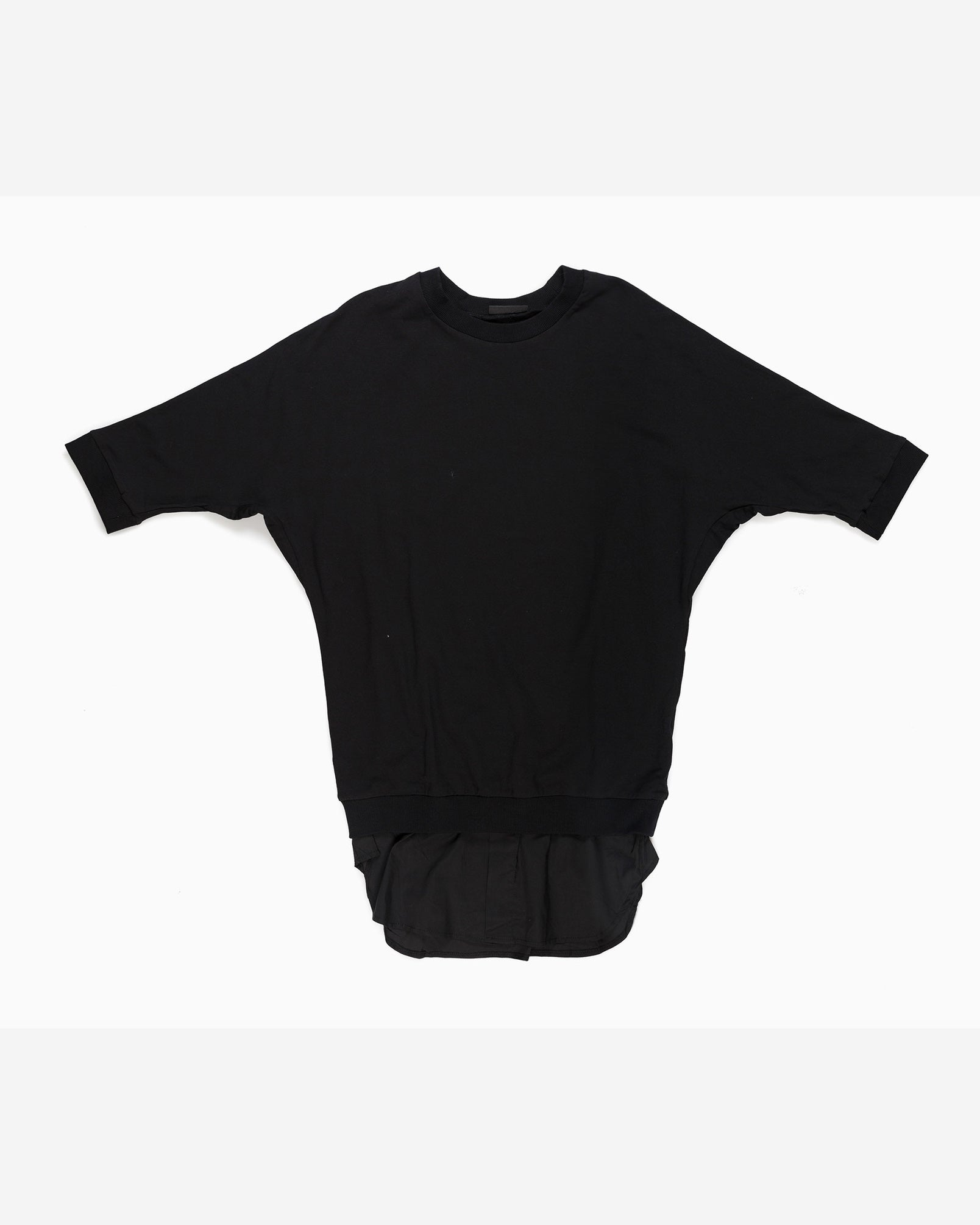 Kosumi Short Sleeve Sweatshirt (Black)
