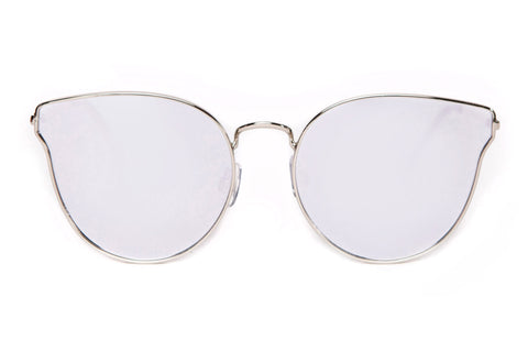 Aria Ultra Thin Geometric Sunglasses