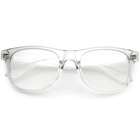 Everyday Blue Light Filter Clear Lens Horned Rimmed Glasses 56mm